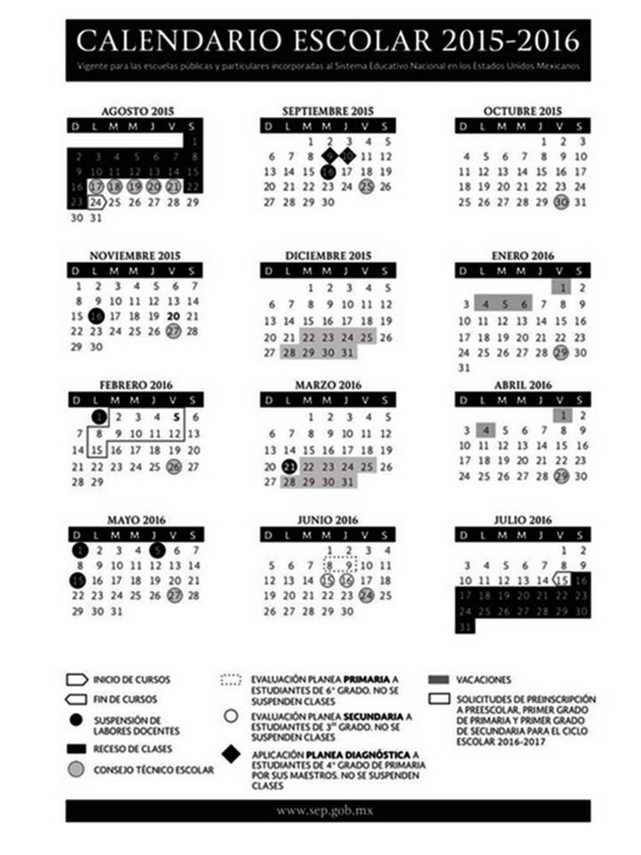 CalendarioSEP2015_2016